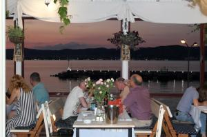 Sunset at DIONIS Restaurant