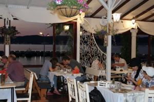 Sunset at DIONIS Restaurant Nessebar