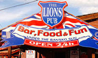 "Bar & Food ""THE LIONS PUB"" Банско"
