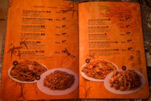 Menu CHINESE MOON