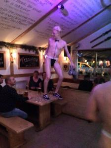 Uncensored Brit Hot Party at THE BJs Bar Borovets