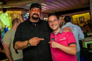 Steven Seagal - our VIP Guest
