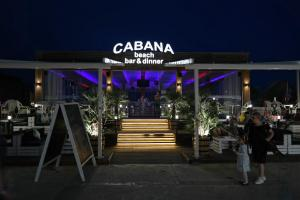 Beach bar dinner CABANA Sunny Beach