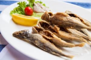 Fresh Fish at TRAPEZI Sofia
