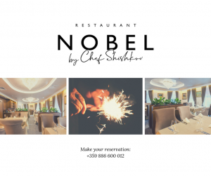 Restaurant NOBEL by Chef SHISHKOV
