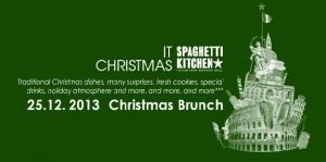 Christmas Brunch at Restaurant Spaghetti Kitchen