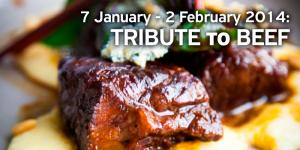 Tribute To beef in restaurant Amvrosia Bansko